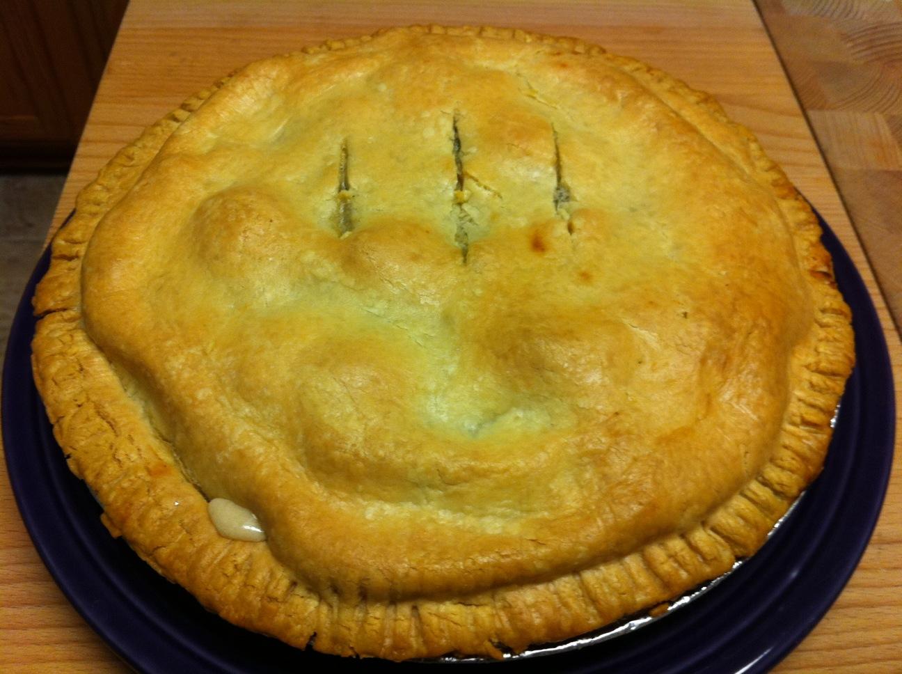 Spinach and Mushroom Chicken Pot Pie   Zestybeandog's Blog